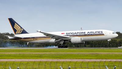 9V-SVG - Boeing 777-212(ER) - Singapore Airlines