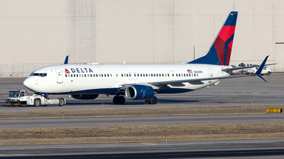 A picture of N832DN - Boeing 737932(ER) - Delta Air Lines - © xuxinyi1000