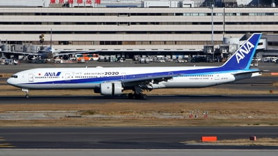 JA757A - Boeing 777-381 - All Nippon Airways (ANA)