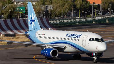 A picture of XAJBA - Sukhoi Superjet 10095B - Interjet - © Jairo Hernan Pty