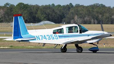 A picture of N74359 - Grumman American AA5B - [AA5B0207] - © Orlando Suarez