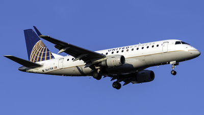 A picture of N647RW - Embraer E170SE - United Airlines - © kennedyspotting