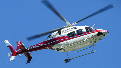 N429CH - Bell 429 Global Ranger - Classic Air Medical
