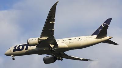 SP-LRG - Boeing 787-8 Dreamliner - LOT Polish Airlines