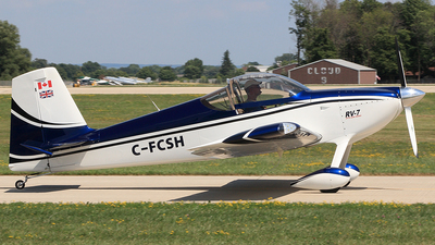 C-FCSH - Vans RV-7 - Private