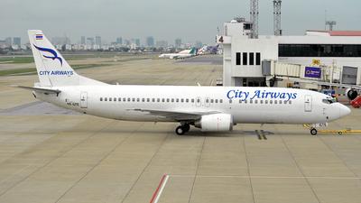 HS-GTE - Boeing 737-4H6 - City Airways