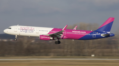 HA-LTE - Airbus A321-231 - Wizz Air