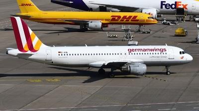 D-AIQL - Airbus A320-211 - Germanwings