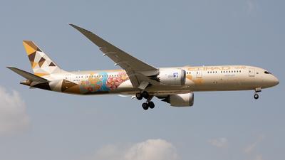 A6-BLJ - Boeing 787-9 Dreamliner - Etihad Airways