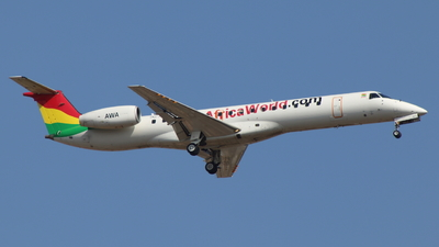 9G-AFQ - Embraer ERJ-145LI - Africa World Airlines