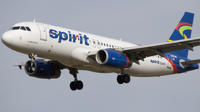 N612NK - Airbus A320-232 - Spirit Airlines