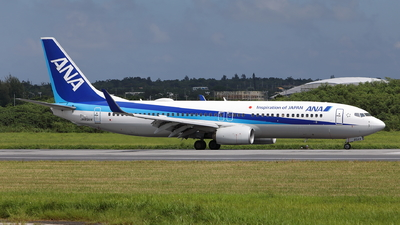 A picture of JA85AN - Boeing 737881 - All Nippon Airways - © kouyagi