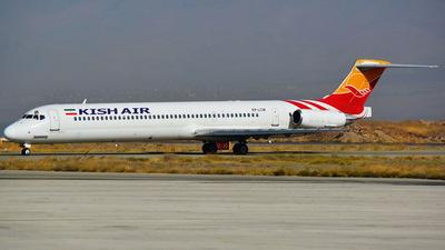 EP-LCM - McDonnell Douglas MD-82 - Kish Air