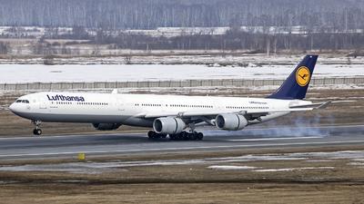 D-AIHV - Airbus A340-642X - Lufthansa