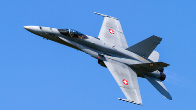 J-5020 - McDonnell Douglas F/A-18C Hornet - Switzerland - Air Force