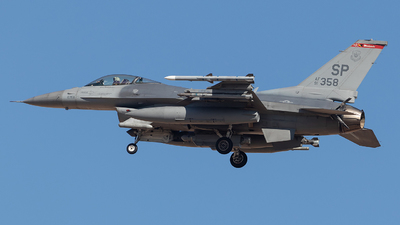 91-0358 - General Dynamics F-16C Fighting Falcon - United States - US Air Force (USAF)