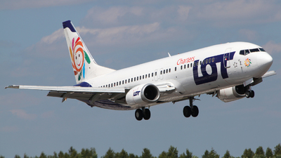 SP-LKK - Boeing 737-5L9 - LOT Polish Airlines