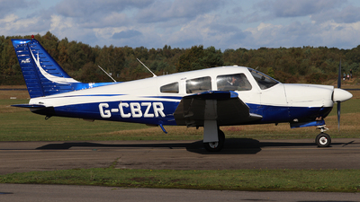 G-CBZR - Piper PA-28R-201 Arrow III - Private