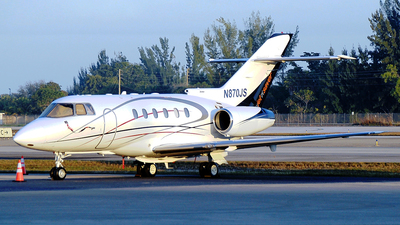 N870JS - Hawker Beechcraft 800XP - Go2Jets