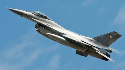 4073 - Lockheed Martin F-16C Fighting Falcon - Poland - Air Force