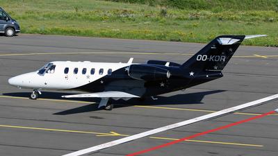 OO-KOR - Cessna 525A CitationJet 2 Plus - Abelag Aviation
