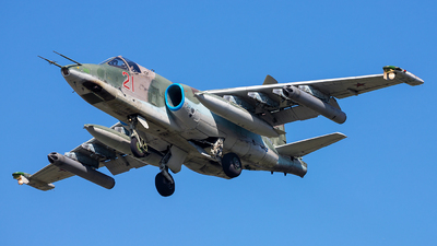 RF-93050 - Sukhoi Su-25SM Frogfoot - Russia - Air Force