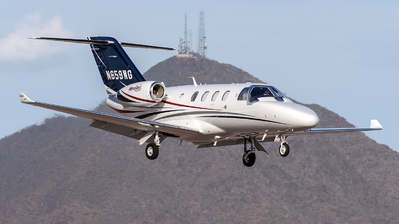 N659WG - Cessna 525 CitationJet M2 - Private