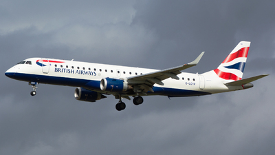 G-LCYR - Embraer 190-100SR - BA CityFlyer