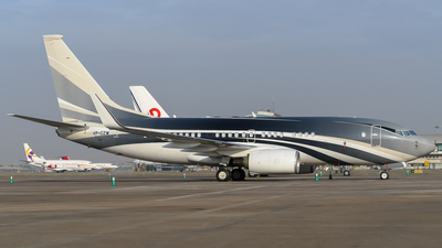VP-CZW - Boeing 737-7JW(BBJ) - Private