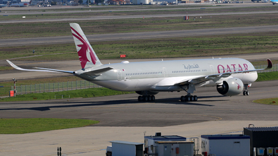 F-WWDW - Airbus A350-1041 - Qatar Airways