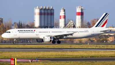 F-GTAZ - Airbus A321-212 - Air France