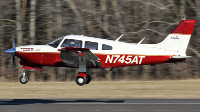 N745AT - Piper PA-28R-201T Turbo Cherokee Arrow III - Private