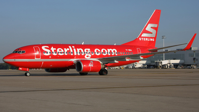 TF-NBA - Boeing 737-7Q8 - Sterling Airlines