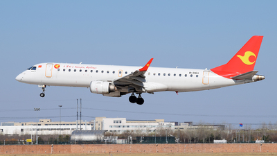 B-3163 - Embraer 190-100LR - Tianjin Airlines