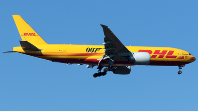 A picture of DAALM - Boeing 777F - DHL - © Maximilian Haertl