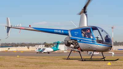 VH-RLS - Robinson R22 Beta - Private