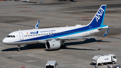 A picture of JA219A - Airbus A320271N - All Nippon Airways - © shiroiruka