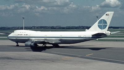 N748PA - Boeing 747-121 - Pan Am