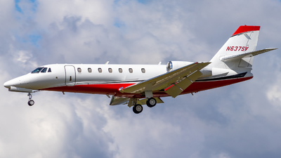 N637SV - Cessna 680 Citation Sovereign - Private
