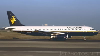 G-BVYB - Airbus A320-231 - Caledonian Airways