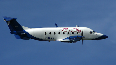 N132YV - Beech 1900D - Big Sky Airlines