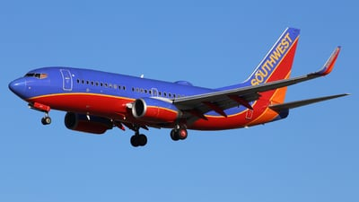 N247WN - Boeing 737-7H4 - Southwest Airlines