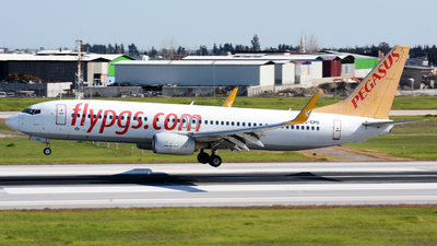 A picture of TCCPD - Boeing 73782R - Pegasus Airlines - © Kayra D.