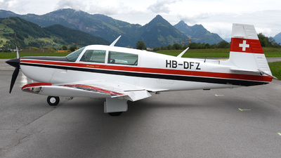 HB-DFZ - Mooney M20K-231 - Private