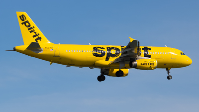 A picture of N607NK - Airbus A320232 - Spirit Airlines - © Yishai Howe