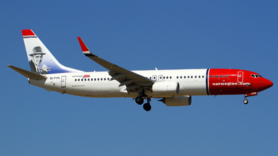 EI-FVK - Boeing 737-8JP - Norwegian