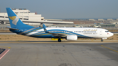 OK-TVU - Boeing 737-86N - Oman Air (Travel Service)