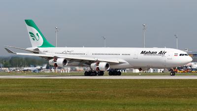 EP-MMT - Airbus A340-313 - Mahan Air