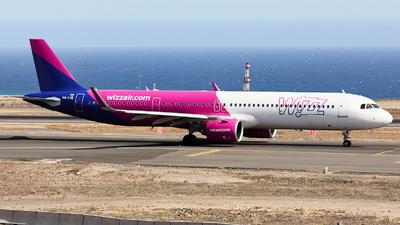 HA-LVE - Airbus A321-271NX - Wizz Air