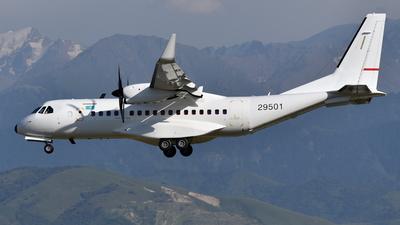 29501 - Airbus C295W - Kazakhstan - Border Guard